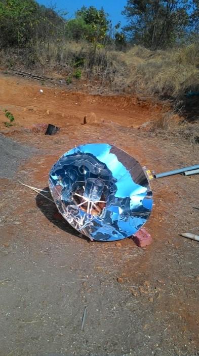 Parabolic Solar Cooker 1